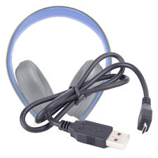 Micro USB Data Transfer Cable for Sony PlayStation Wireless Stereo Headset 2.0