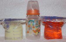 Reborn OOAK Doll Sealed Helicopter Bottle Bag Fake Formula Milk & Apple Juice