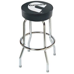 Dodge cummins Bar Stool chair shop work Diesel cummings garage swivel top cave