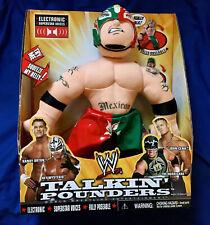 WWE Rey Mysterio Talkin Pounders Talking Plush Wrestling Toy (like Buddies)