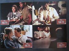 DIE AKTE - 8 Aushangfotos - Julia Roberts, Denzel Washington, Sam Shepard