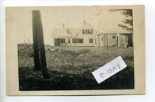 Cape Cod MA Mass Eastham RPPC real photo, home, shed, early