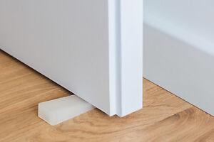 Zimmerheld Türkeil Türstopper Unterlegkeil transparent flexibles Hartgummi 100mm