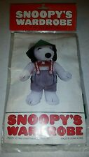 NIB Vintage Clothes for Snoopy Outfit for Small Baby Plush Snoopy Doll