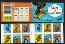 LUXEMBURG 2002 FUNSPORT Markenheftchen selbstklebend 6x2 Marken postfrisch