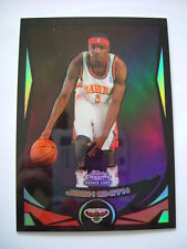 JOSH SMITH 2004-05 TOPPS CHROME ' BLACK REFRACTOR ' ROOKIE CARD - #484/500 -RARE