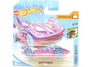 Hot Wheels Super Stinger Rue Beasts 90/365 Court Carte 1 64 Echelle Scellé Neuf