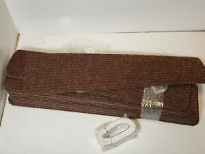 Non Slip Carpet Stair Treads + Double Sided Tape - Set of 13 Premium Non Skid 30
