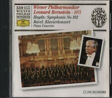 Leonard Bernstein: Vienna Philharmonic Orchestra - Haydn - Ravel Piano Concertos