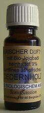 Zedernholzöl 1 ml ätherisches Öl Cedernholz Bio mit Bio-Jojobaöl 10 ml