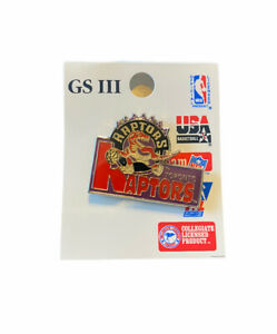 Toronto Raptors NBA Basketball Team Logo Hat Lapel Pin - BRAND NEW