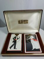 Vintage Art Deco CONGRESS DESIGNER SERIES Playing Cards Tuxedo & Dress  Unopened