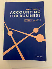 Accounting for Business Third Edition
