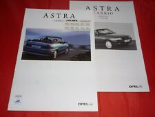 OPEL Astra F Cabrio Ambiente Bertone Edition Prospekt Brochure Preisliste 1997