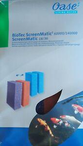 Ersatzschwamm Set BioTec ScreenMatic 18/36