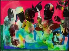 Carolina Shout by Romare Bearden Art Print African American Museum Poster 18x25