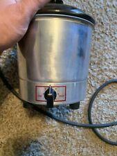 Vintage Server Products Model Fs-2E Electric Popcorn Maker - Metal/Pyrex