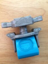 """Gray & Blue 2.5"""" Stamper Piece PLAY-DOH Replacement Part EUC"""