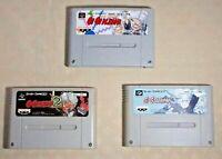 Go Go Ackman 1 2 3 SNES SFC Nintendo Super Famicom game tested cartridge Japan