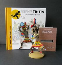 "LARGE 5"" TINTIN FIGURINE ""OFFICIAL COLLECTION"" #M93 RASCAR CAPAC LA MOMIE"