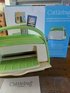 cuttlebug craft die cutting embossing machine