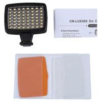 5400K LED Videoleuchte Video-Licht Lampe fuer Kamera DV Camcorder BeleuchtuM6G2