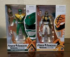 MMPR Power Rangers Lightning Collection Green Ranger/White Ranger Ready to ship
