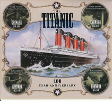 Grenada 2012 MNH Titanic 100 Year Anniversary 4v M/S Ships Boats Stamps
