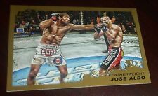 Jose Aldo UFC 2011 Topps Moment of Truth Gold Card #154 163 156 142 136 129 WEC