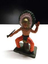RARE Figurine Starlux indiens TBE