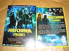 GLOSSY POLISH CINEMA FLYER - WATCHMEN