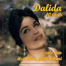 CD Dalida : 40 Titres Remasterisés - 2 CD