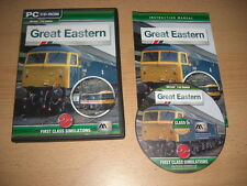 GREAT Eastern Londra-trova sia PC msts Expansion Pack Microsoft SIMULATORE DI TRENO