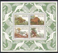 SUD AFRICA (RSA) 1982 I DINOSAURI FOSSILI// ANIMALI PREISTORICI Natura/M/S (s2621)