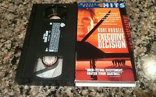 EXECUTIVE DECISION VHS! 1996 EXTREME ACTION! Con Air Die Hard 2 Airborne Red Eye
