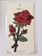 Large ROSE Embroidery patch Big Size Gucci Style Patches Iron On