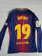 Digne Barcelona 2017-2018 La Liga Match Prepared Shirt