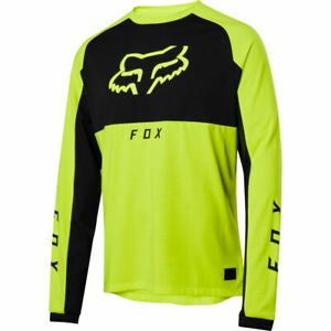 Fox Racing 2020 Ranger Dri-Release Mid Long Sleeve L/S Jersey Day Glo Yellow