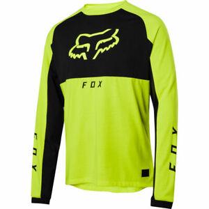 Fox Racing Ranger Dri-Release Mid Long Sleeve L/S Jersey Day Glo Yellow