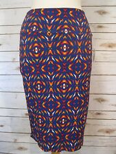 NWT LulaRoe Cassie Pencil Skirt Womens Multi Color Size M Med