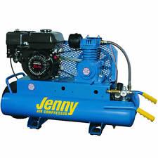 Jenny 5.5-HP 8-Gallon Gas Wheelbarrow Air Compressor w/ Honda Engine