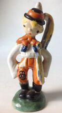 "Vintage Czech Pottery Boy Figurine As Is 7.5"" Help w ID Ditmar Urbach?"