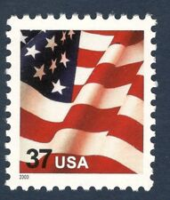 3629f Flag US Single Scarce Microprinted USA Mint/nh (Free shipping offer)