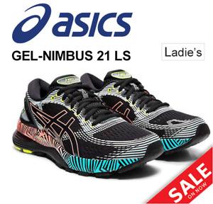 ASICS GEL-NIMBUS 21 LS 1012A540 Women's Running Shoes JAPAN