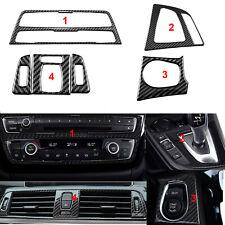 Carbon Fiber Inner Dash Cover Trim Stickers For BMW 3 4 Series F30 F31 F32 F33