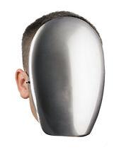 Faceless Chrome Mask Creepy No Face Horror Spooky Cobra Commander Adult Costume