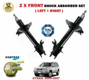 FOR NISSAN XTRAIL X TRAIL 2001-2007 2x FRONT LEFT + RIGHT SHOCK ABSORBER SET