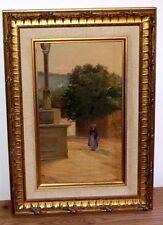ancien tableau paysage de Gargilesse signé Théodore David 1904 le mans sarthe