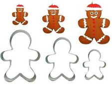 Gingerbread Man cookie cutter Christmas Party X-mas Festive Family Happy Cute UK