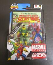 Spider-Man and Thunderball MARVEL UNIVERSE Comic Packs Hasbro MIB